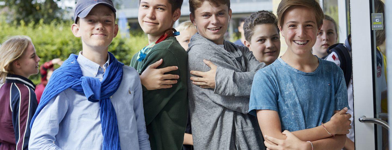Drenge på Sommerskole