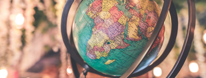 globus af verdenen, danes worldwide